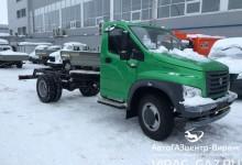 ГАЗон Некст есть в продаже в виде шасси длиной 3.6 м и 5.1 м