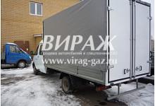 Евроборт на базе ГАЗ-33023 со спальным местом