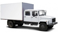 Егерь 2х рядный фургон