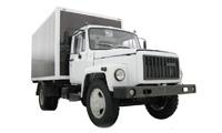 ГАЗ 3307 грузовой автомобиль борт / шасси