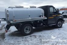 ГАЗон Некст с цистерной для перевозки молока или воды: